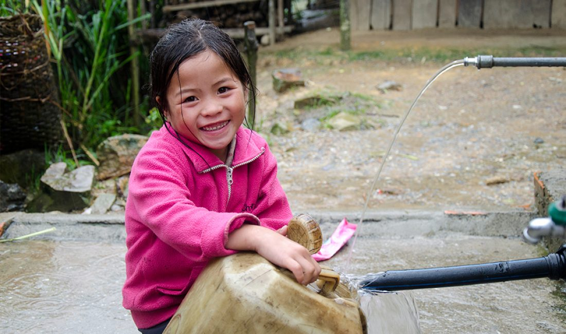 Bringing water to children and their families in northern Laos