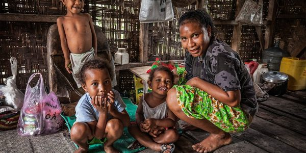 PNG women standing strong against gender-based violence