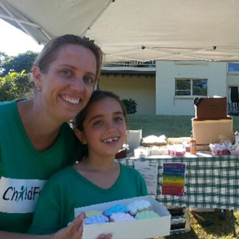 Nine-year-old Rebecca's Big Bake Sale