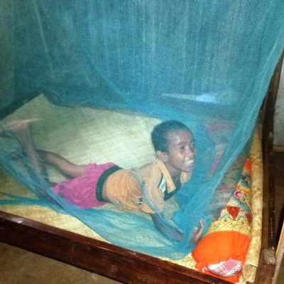 Mosquito nets are saving lives in Timor-Leste.