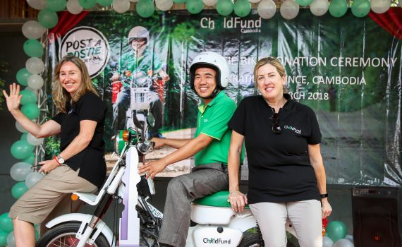 Getting off the beaten track with a postie bike in Cambodia