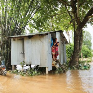 Protecting children from floods in Cambodia