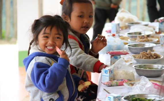 Five reasons to give seeds to children in Laos