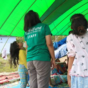 How ChildFund helps children impacted by disasters in Indonesia