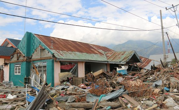 How your donation funds disaster relief for children in Indonesia