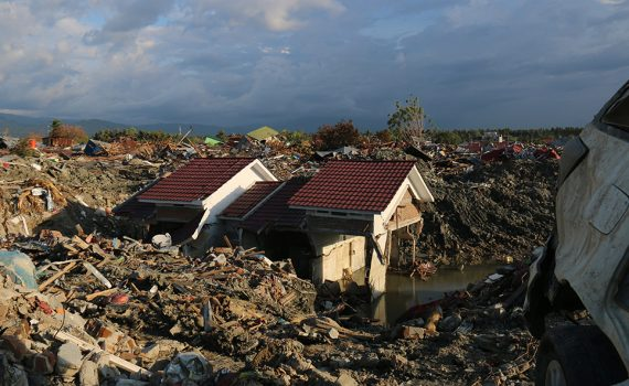 Clean water needed for Indonesia's disaster survivors