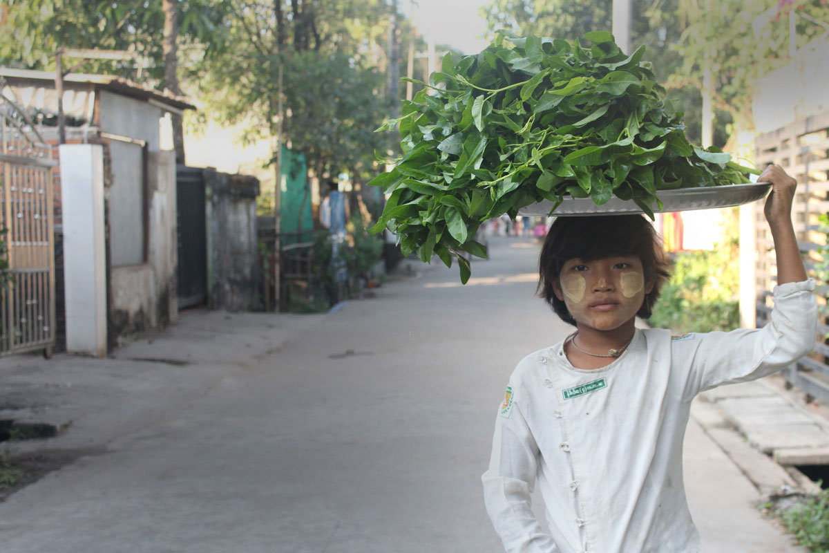 ChildFund Myanmar is helping 11-year-old May Su get back to school with non-formal classes