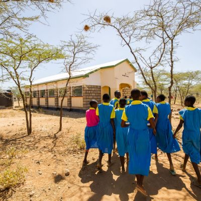 A school in Kenya