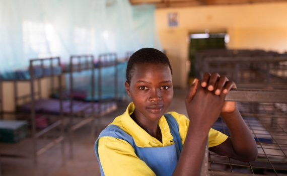 Why school is a sanctuary for girls in Kenya