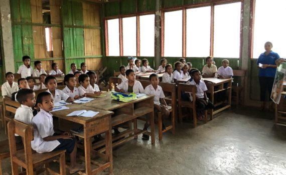Meeting Timor-Leste's future teachers, doctors and nurses