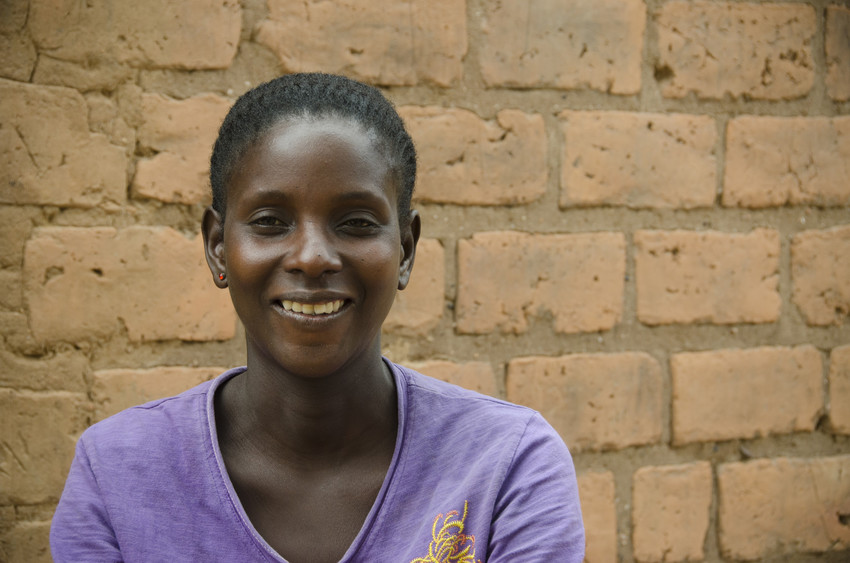 Mavis, 29, was married and had her first child at age 13. She now has five children. Two of them are sponsored, and all of them participate in ChildFund's programs. Mavis freely shares her story to prevent children from repeating her difficult experience.