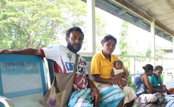 Delivery kits saving mothers and babies in PNG