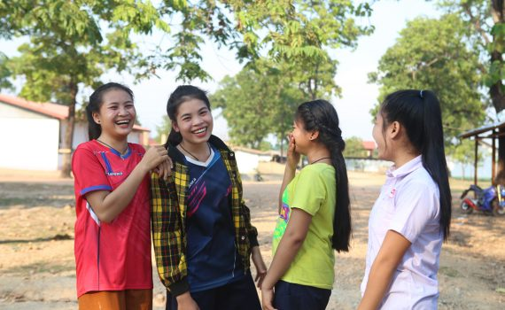 One year on: thriving after floods in Laos
