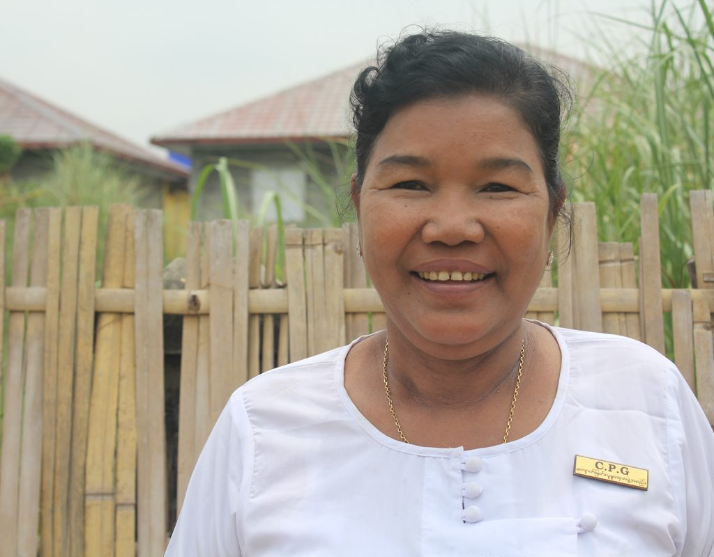 San is a child protection group member in Myanmar