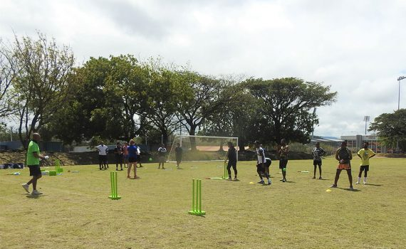 Using cricket for good in Papua New Guinea
