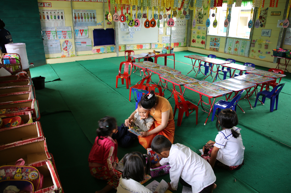 ChildFund Cambodia built a new school in Battambang