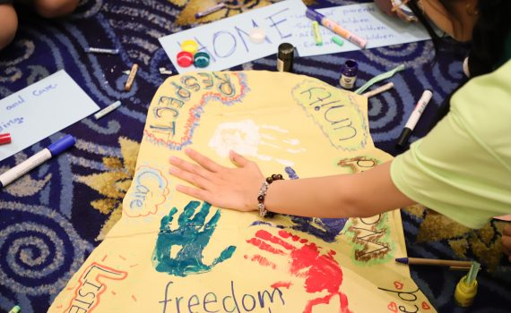 Young delegates speak out at Asian Children's Summit