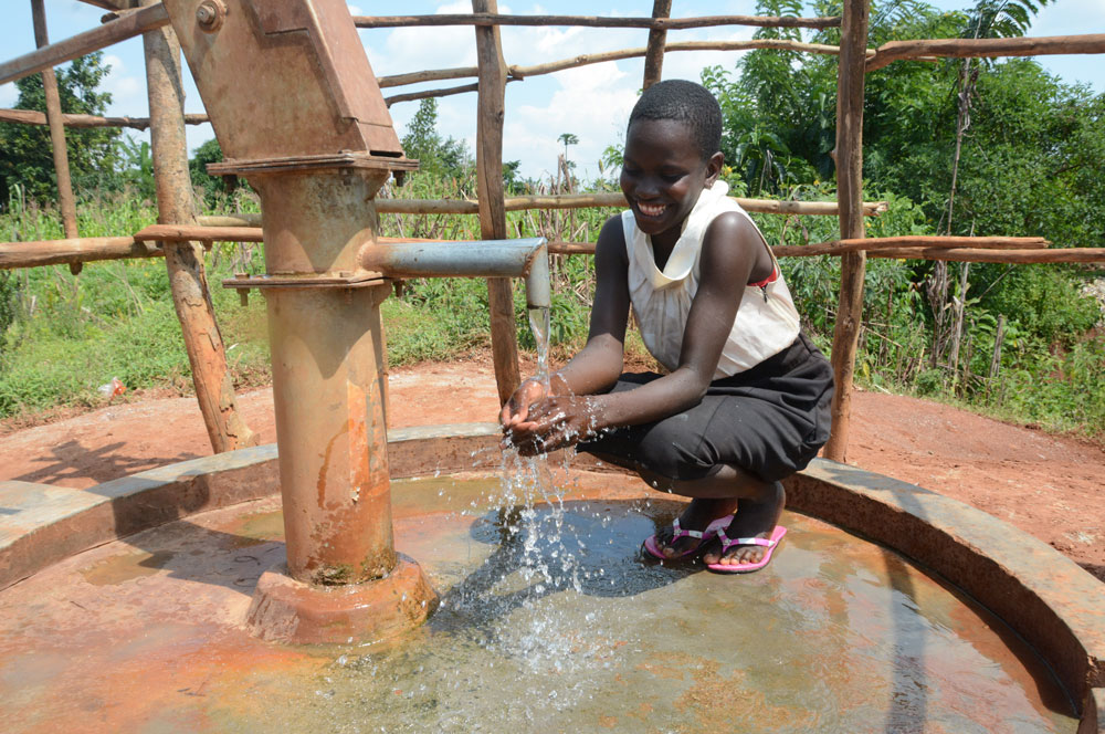 Fund a deepwater borehole system