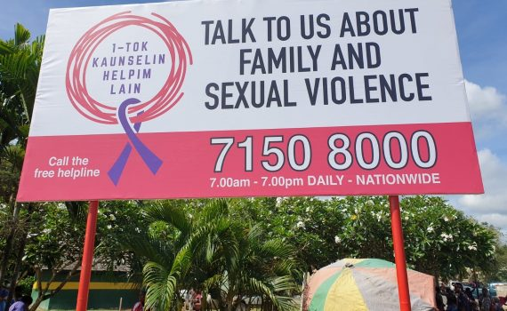 Family and sexual violence helpline in PNG responds to sharp rise in calls
