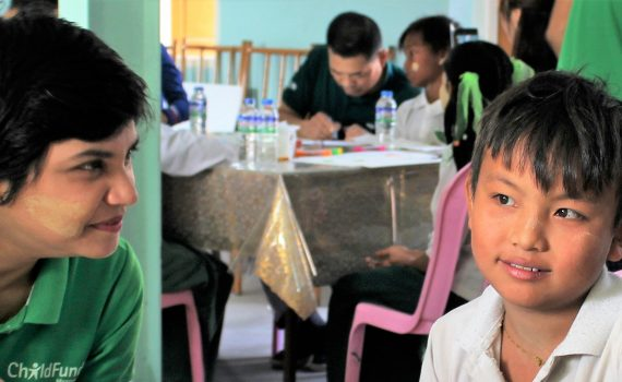 How Win May is empowering children in Myanmar to write their own life stories