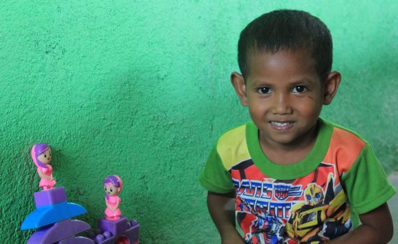 A preschool close to home brings joy to young children in Timor-Leste